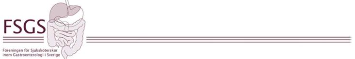 Föreningen för Sjuksköterskor inom Gastroenterologi i Sverige